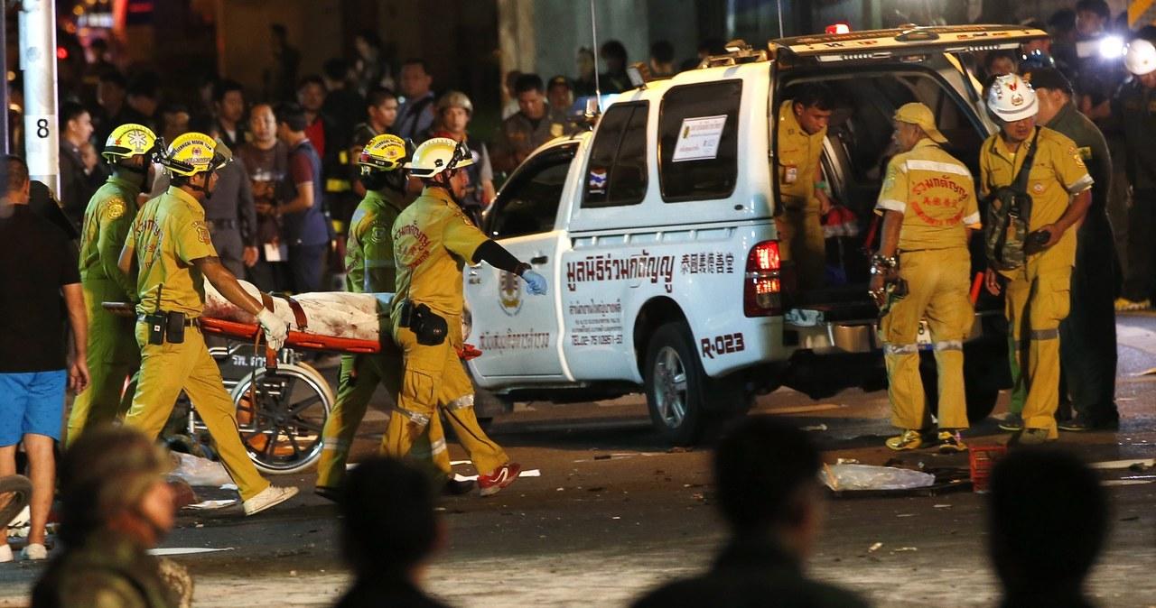 Zamachu w Bangkoku, są zabici