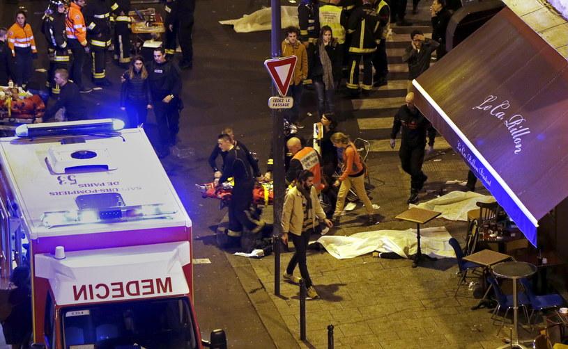 Zamachy terrorystyczne w Paryżu /AFP