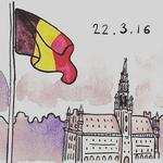 Zamachy w Belgii - internauci solidaryzują się z ofiarami