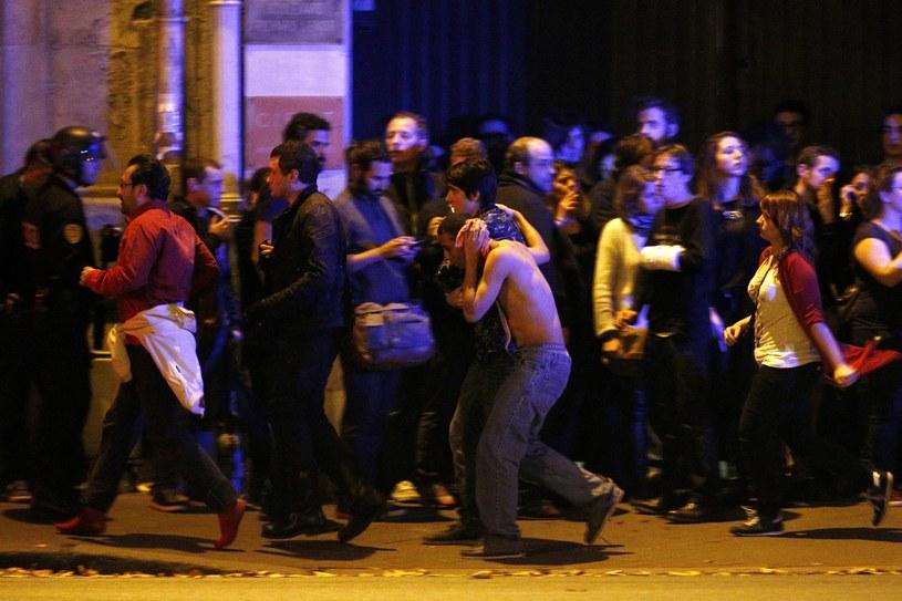 Zamachy w Paryżu /YOAN VALAT  /PAP/EPA