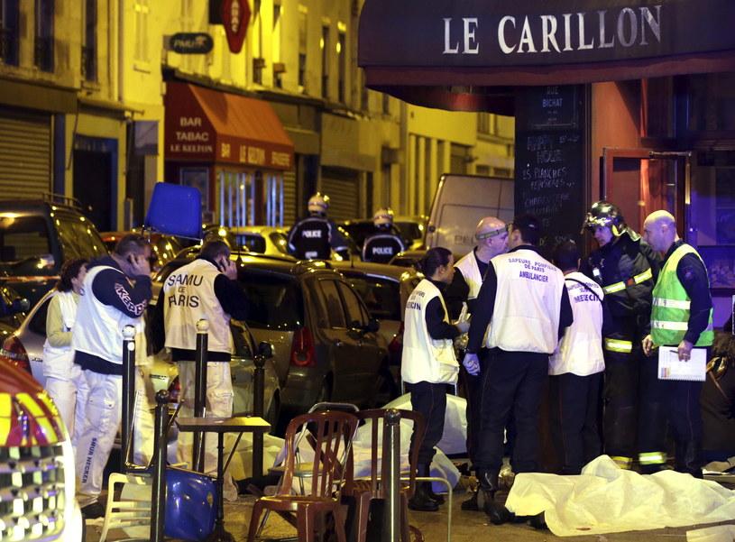 Zamachy w Paryżu /Agencja FORUM