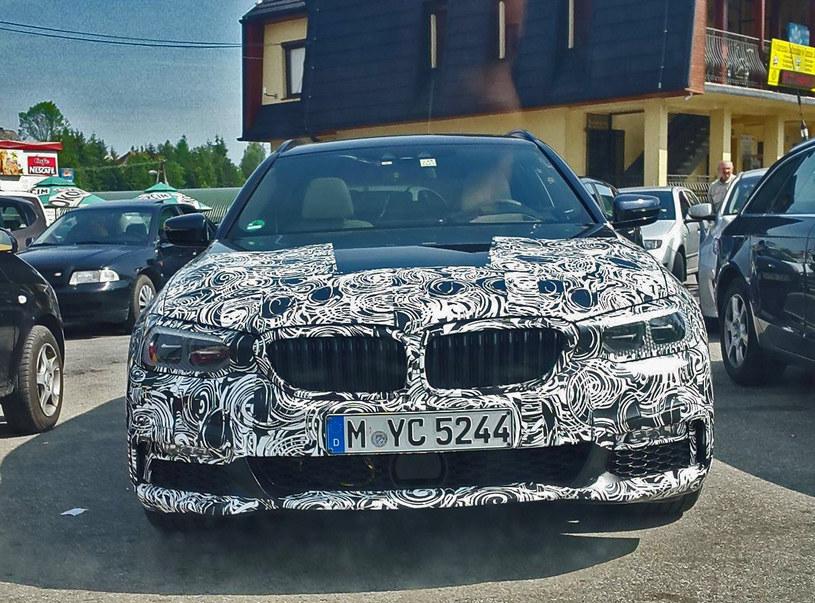 Zamaskowane BMW serii 5 / Fot. Marcin /
