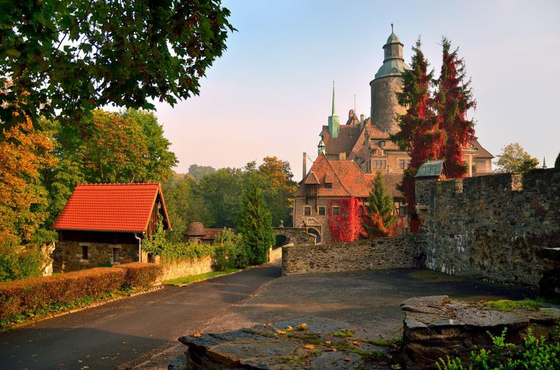Zamek Czocha - duch niewiernej żony straszy turystów /123RF/PICSEL