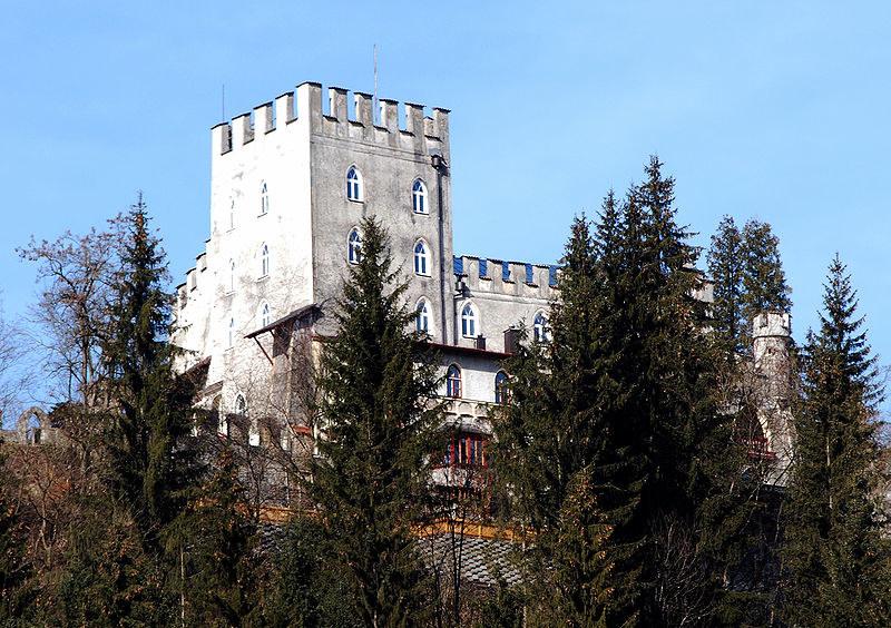 Zamek Itter współcześnie /Wikimedia Commons /materiały prasowe