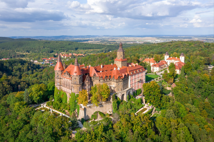 Zamek Książ w Wałbrzychu, w pierwsze pięć lat życia spędziła Beatrice Maria Luise Margarethe /123RF/PICSEL