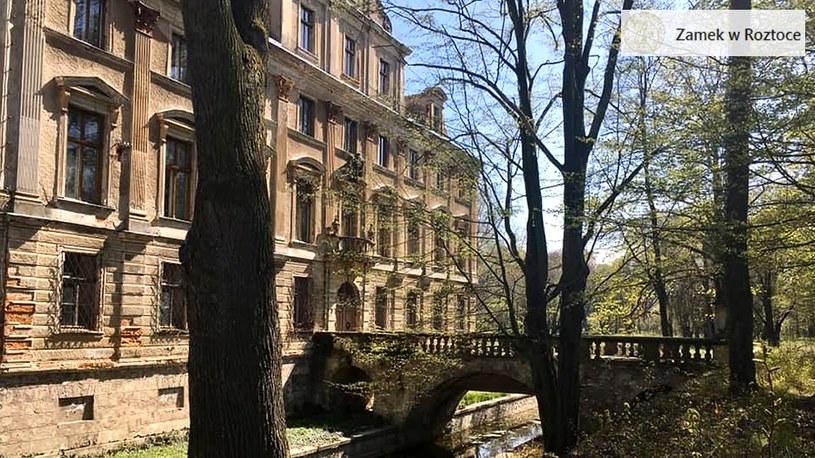 Zamek, na terenie którego ma być ukryty nazistowski skarb /Zamek w Roztoce /facebook.com