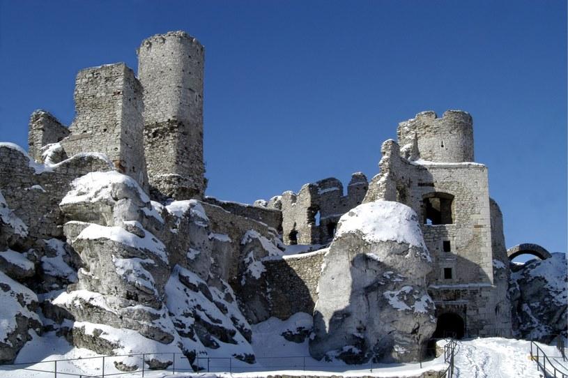 Zamek w Ogrodzieńcu można odwiedzać w słoneczne dni /Krzysztof Jarczewski /Agencja FORUM
