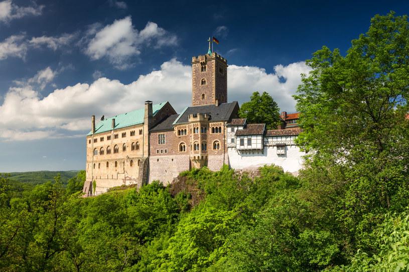 Zamek Wartburg – zamek warowny w Turyngii. Niemcy /123RF/PICSEL
