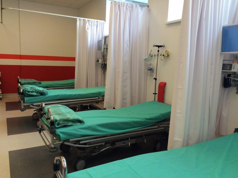 Zamiast 10 łóżek wyremontowany SOR ma 30 /Kuba Kaługa /RMF FM