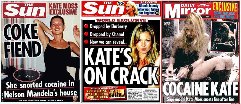 Zamiast na okładkach Vogue'a i Vanity Fair Kate wylądowała na pierwszych stronach tabloidów /materiały prasowe