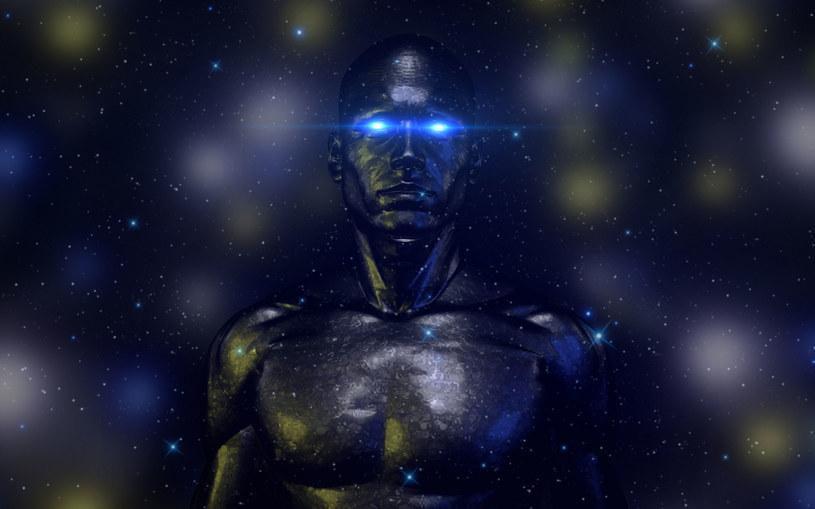 Zamiast organicznych kosmitów, androidy? /123RF/PICSEL