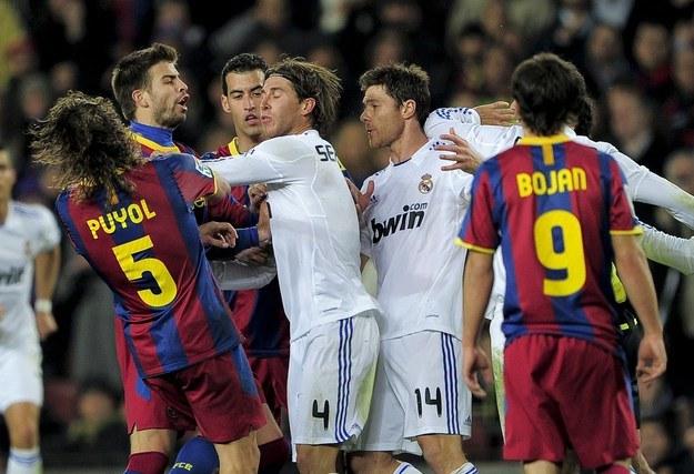 Zamiast z Realem Barca miałaby grać wielkie i pełne emocji mecze z PSG? /AFP
