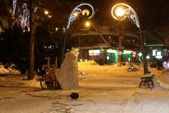 Zamieć w centrum Zakopanego