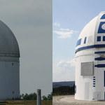 Zamienił budynek obserwatorium astronomicznego w R2-D2