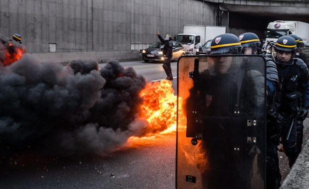 Zamieszki koło lotniska Orly. Interweniowały oddziały szturmowe policji