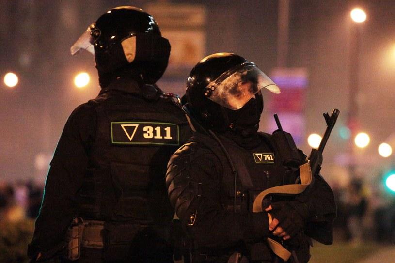 Zamieszki na Białorusi /AFP