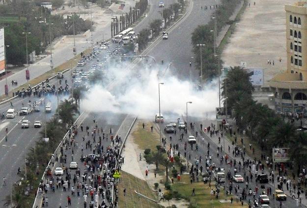 Zamieszki na Placu Perłowym /AFP
