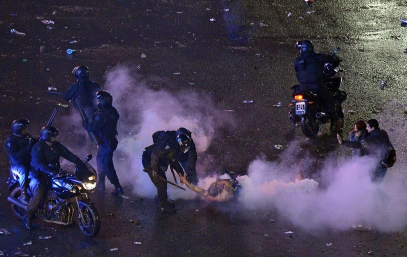 Zamieszki na ulicach Buenos Aires po finale MŚ /AFP