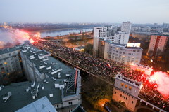 Zamieszki podczas Marszu Niepodległości