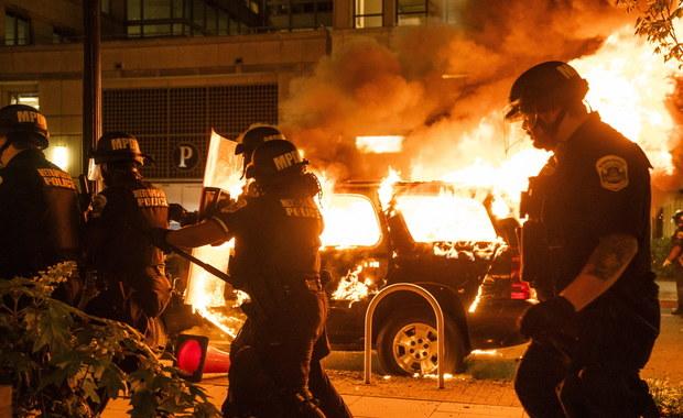 Zamieszki przed Białym Domem. AP: Trump w schronie podczas piątkowych protestów