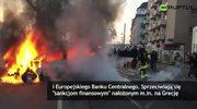 Zamieszki przed siedzibą Europejskiego Banku Centralnego we Frankfurcie