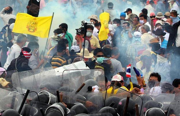 Zamieszki w Bangkoku, 24 listopada 2012 /AFP