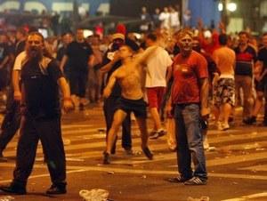 Zamieszki w Belgradzie - wielu rannych
