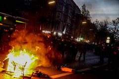 Zamieszki w Berlinie
