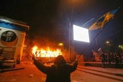 Zamieszki w Kijowie. Milicja starła się z protestującymi