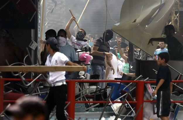 Zamieszki w Libanie /AFP