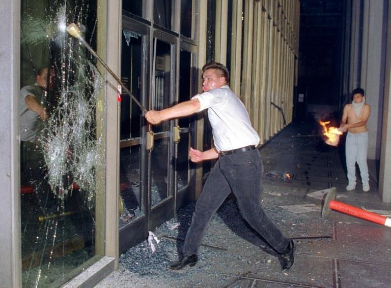 Zamieszki w Los Angeles, 1992 rok /AFP