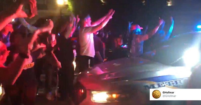 Zamieszki w Louisville /Twitter.com /Twitter