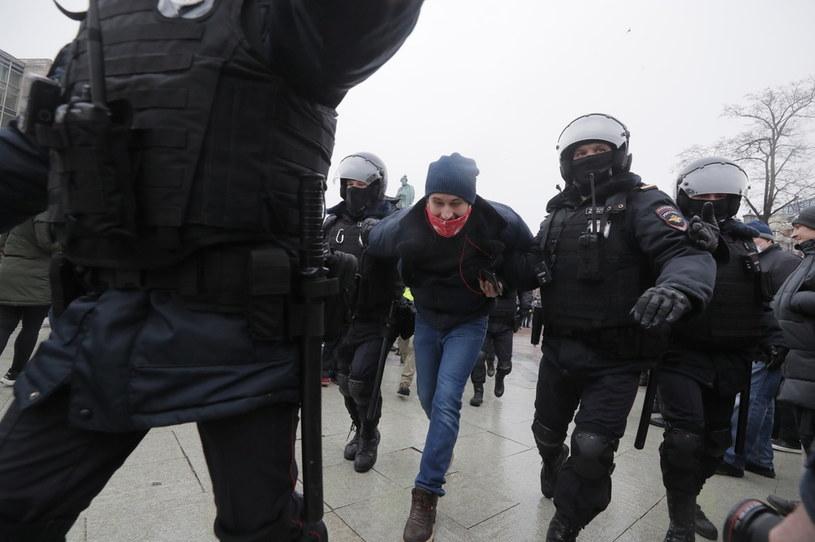 Zamieszki w Rosji /MAXIM SHIPENKOV    /PAP/EPA