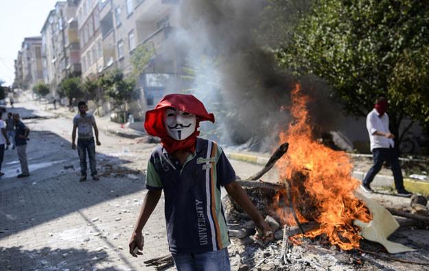 Zamieszki w Stambule fot. Bulent Kilic /AFP