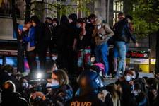 Zamieszki w stolicy Niemiec
