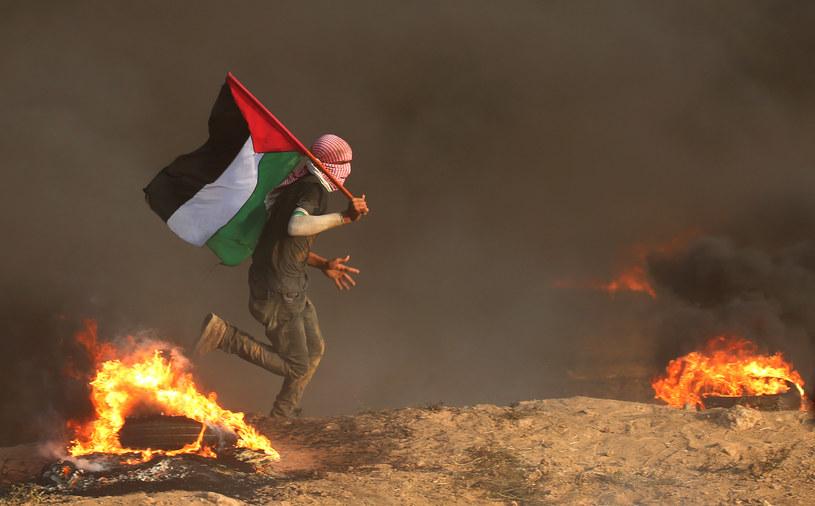 Zamieszki w Strefie Gazy; zdj. ilustracyjne /AFP