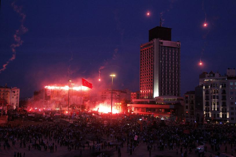 Zamieszki w Turcji /AFP