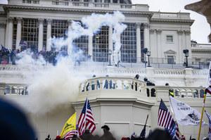 Zamieszki w USA. Protestujący wtargnęli na Kapitol