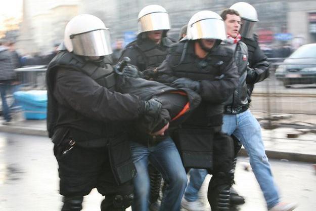 Zamieszki w Warszawie/fot. Luka Łukasiak /East News