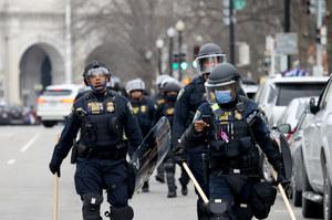 Zamieszki w Waszyngtonie. Zmarła kobieta postrzelona w klatkę piersiową