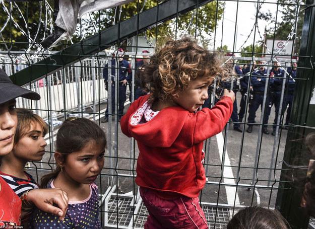 """Zamknięcie granic byłoby jedynie """"symboliczną akcją"""" /AFP /East News"""