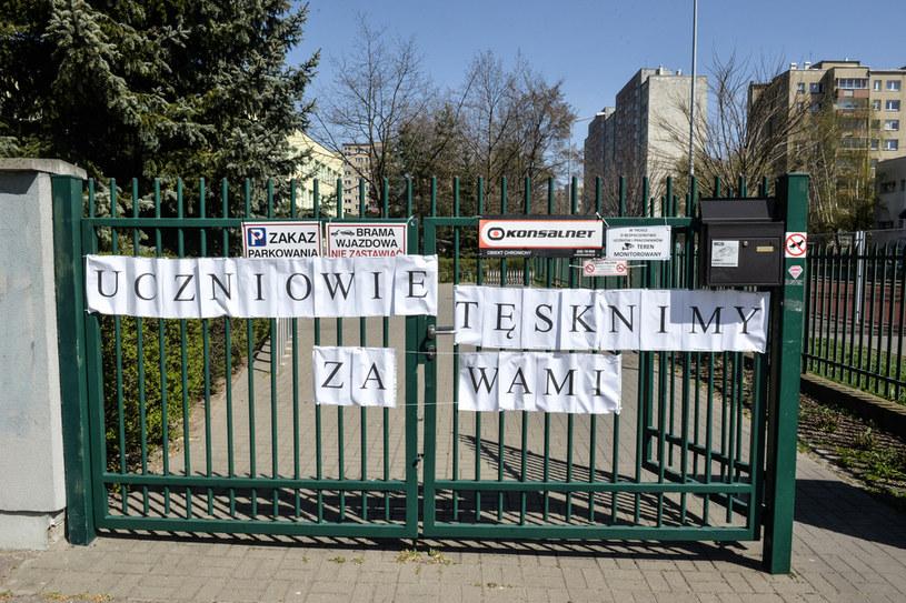 Zamknięta szkoła; zdj. ilustracyjne /Włodzimierz Wasyluk /Agencja FORUM
