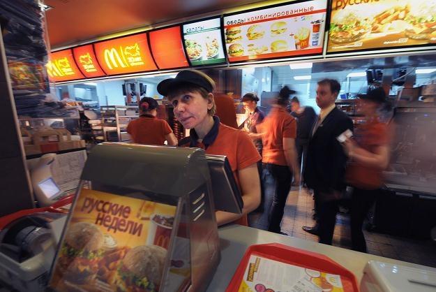 Zamknięty McDonald's na placu Puszkina wznowił pracę /AFP