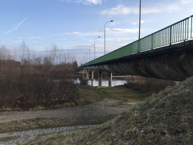 Zamknięty most na Dunajcu /Marek Wiosło /RMF FM