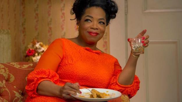 Zamknij się i powiedz tę kwestię jak trzeba! Oprah nie przywykła do takich słów pod jej adresem... /materiały dystrybutora