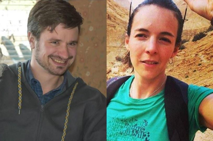 Zamordowani Michael Sharp i Zaida Catalan /źródło: FB/HunamRightsWatch /