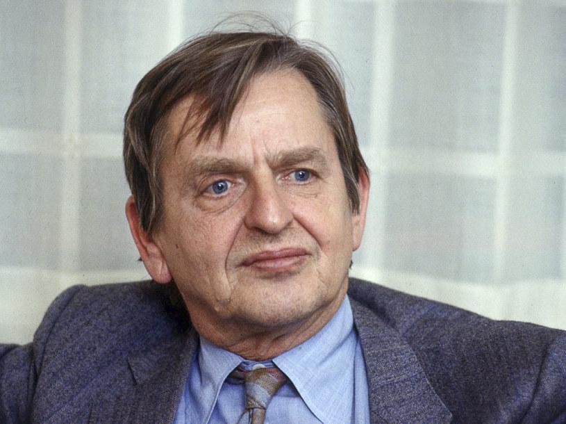 Zamordowany premier Szwecji Olof Palme /TOBBE GUSTAVSSON  /Agencja FORUM