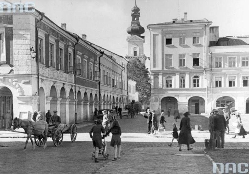 Zamość, październik 1940 roku /Z archiwum Narodowego Archiwum Cyfrowego