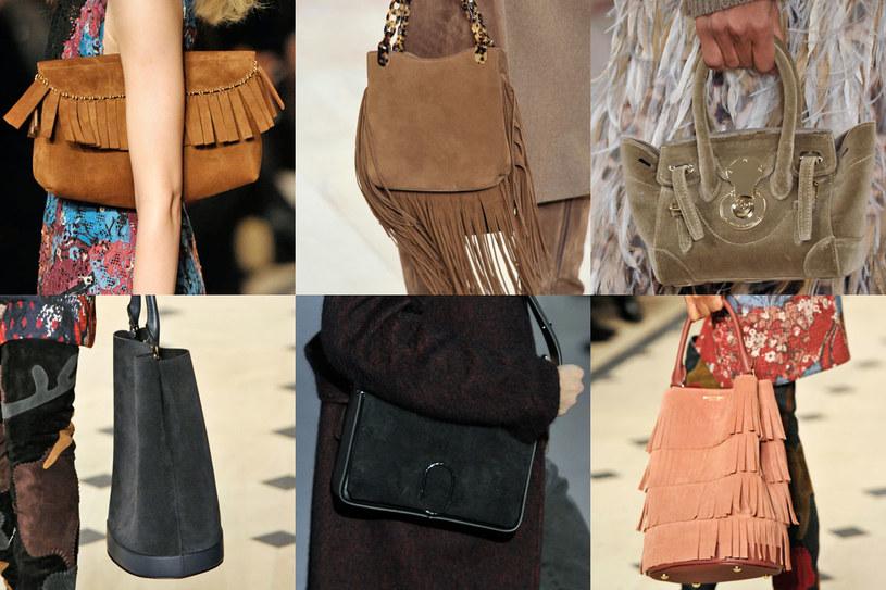 Zamszowe torebki zawsze są modne /East News/ Zeppelin