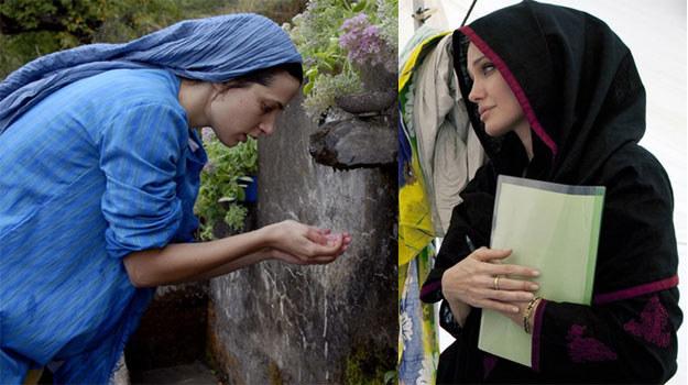 """Zana Marjanović (L) nie może doczekać się spotkania z """"humanistką"""" Angeliną Jolie /AFP"""